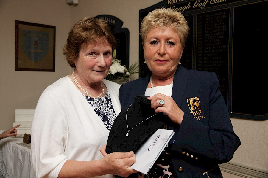 Prize Winners Lady Captains day