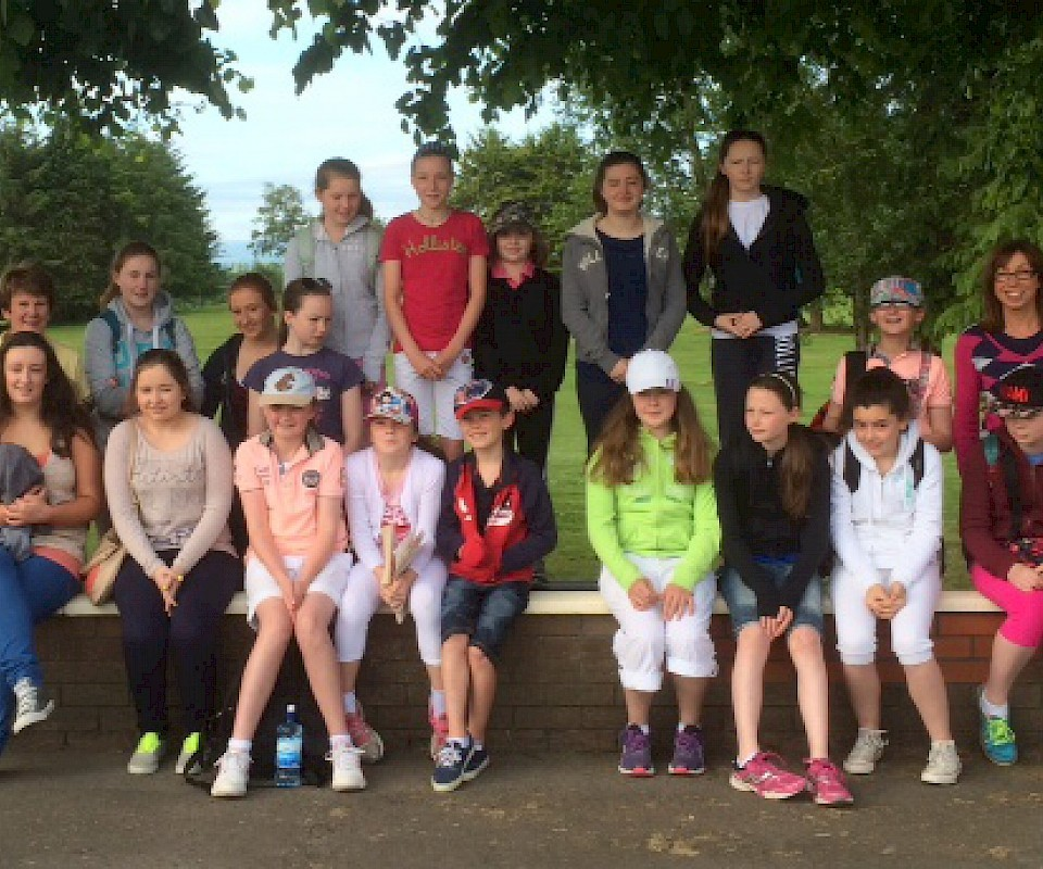 Junior Girls at Irish Open2014