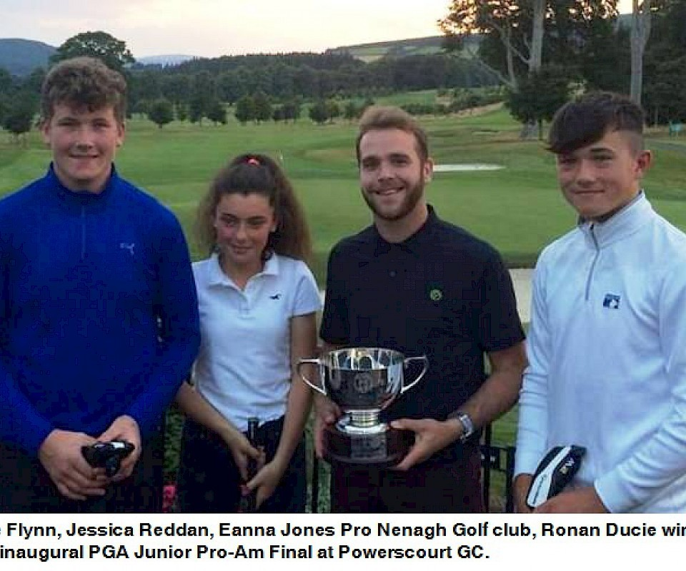 Nenagh Junior Pro-Am Team