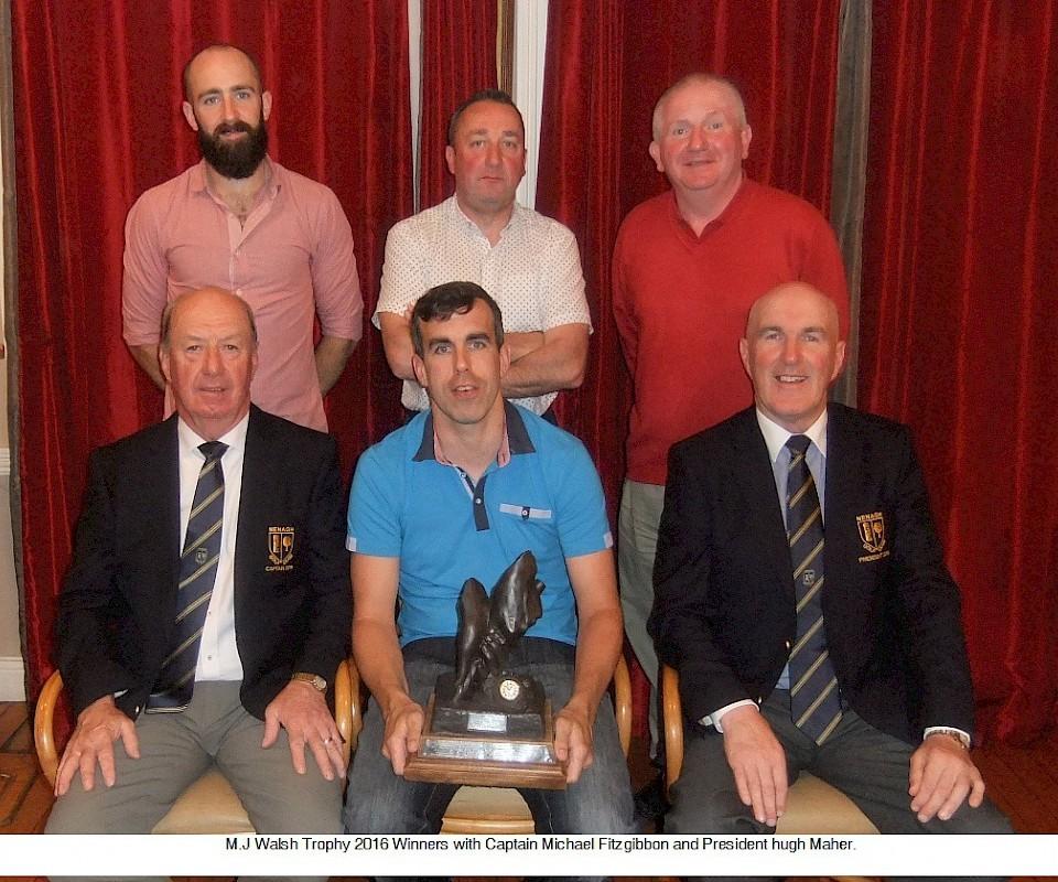 M.J Walshe Trophy 2016