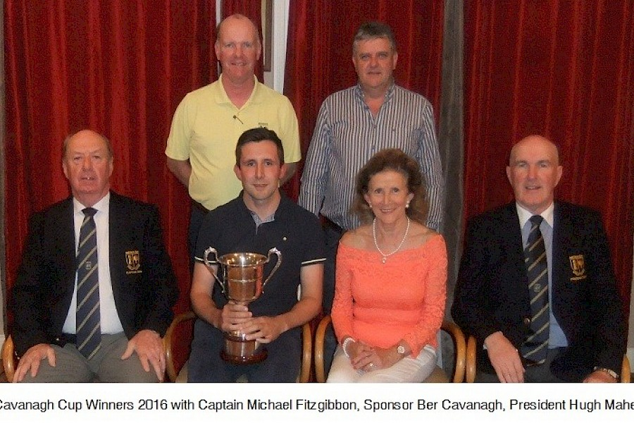 Prize Winners Cavanagh Cup 2016