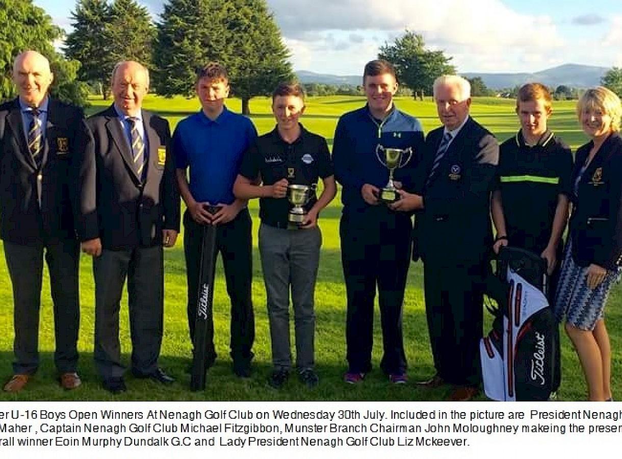 Munster U16 Boys Open