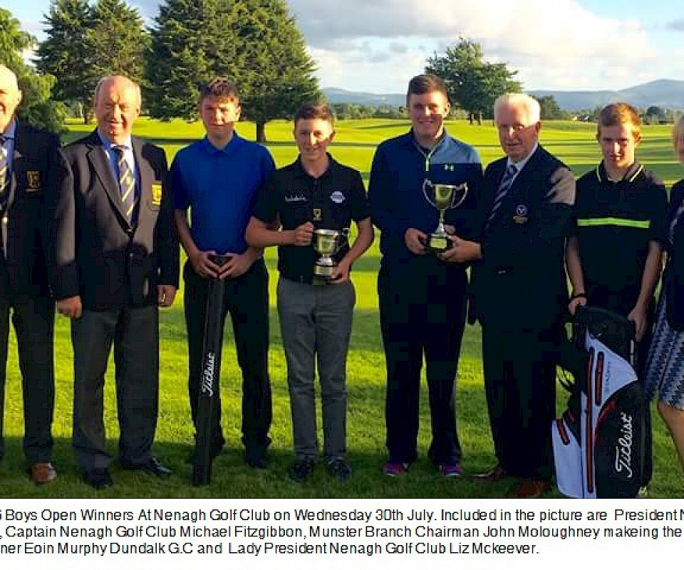 Munster U16 Boys Open