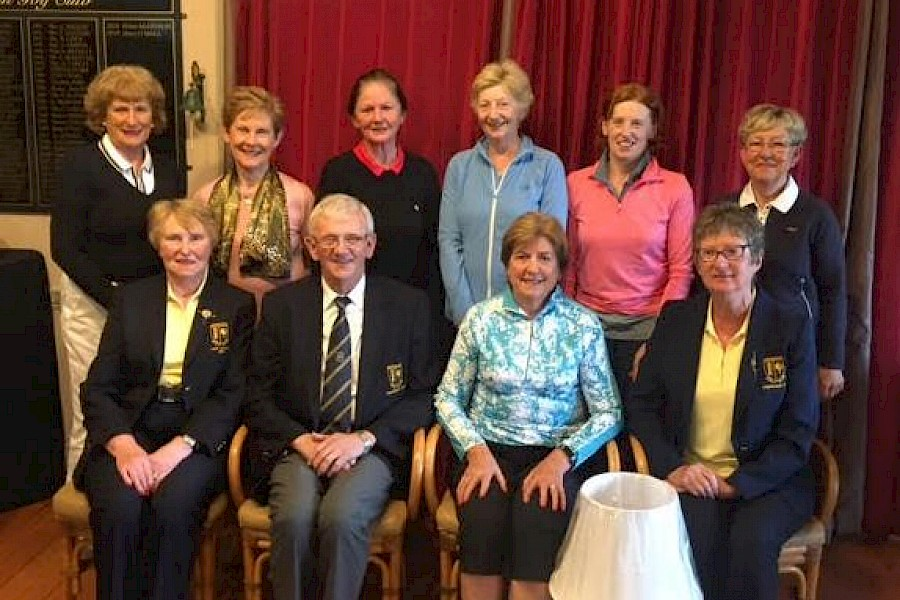 Winners Presidents Prize To The Ladies