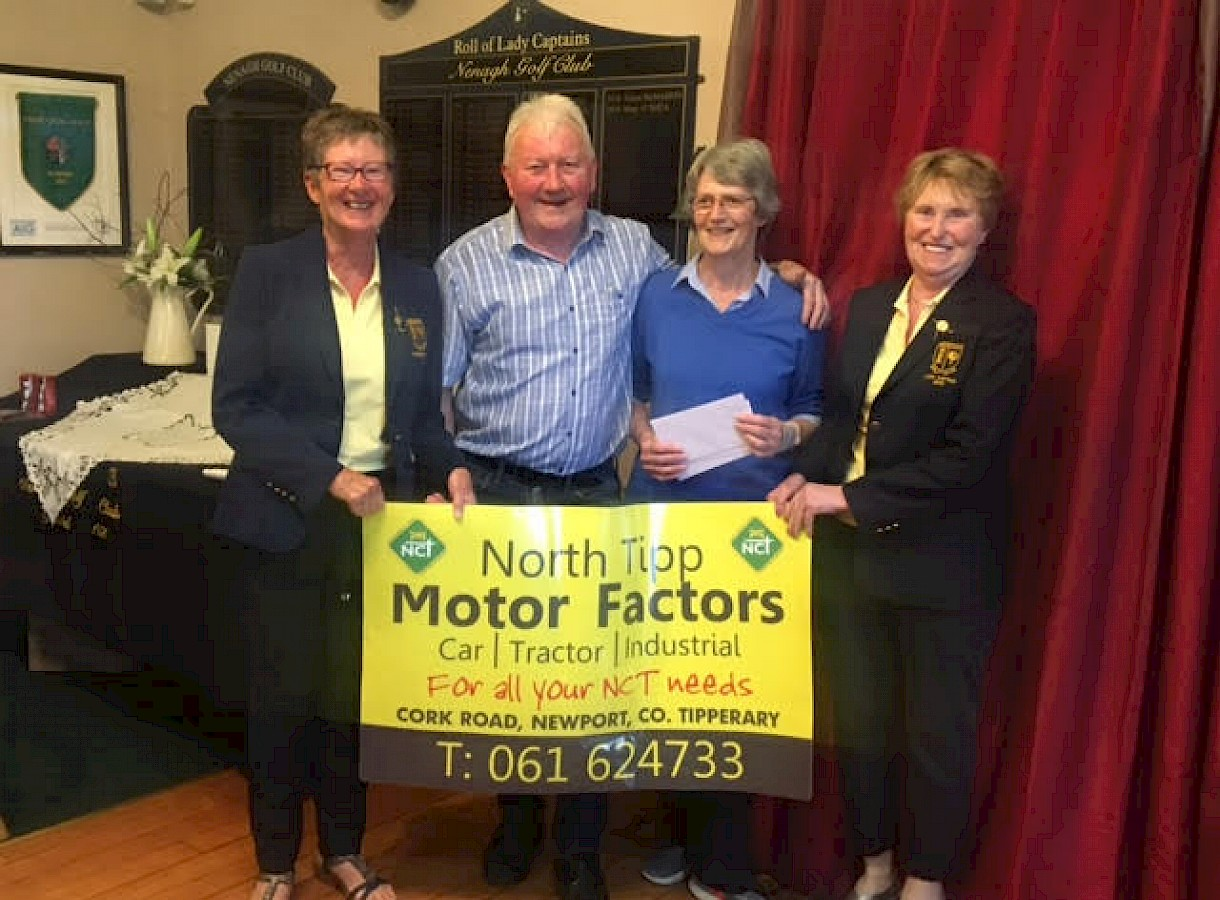 North Tipp Motor Factors Sponsorship