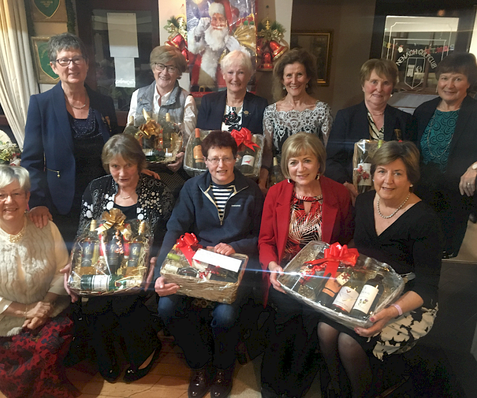 Winners of the October Hamper competition at Nenagh Golf Club