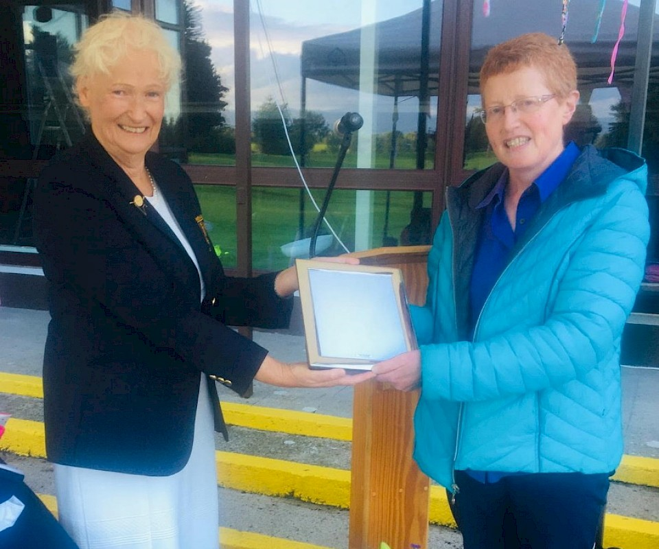 Deidre Cahalan Lady Captain prize Winner 2020